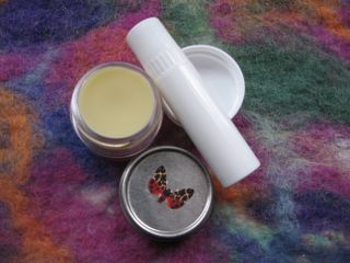 Homemade Lip Balm from Mindful Momma