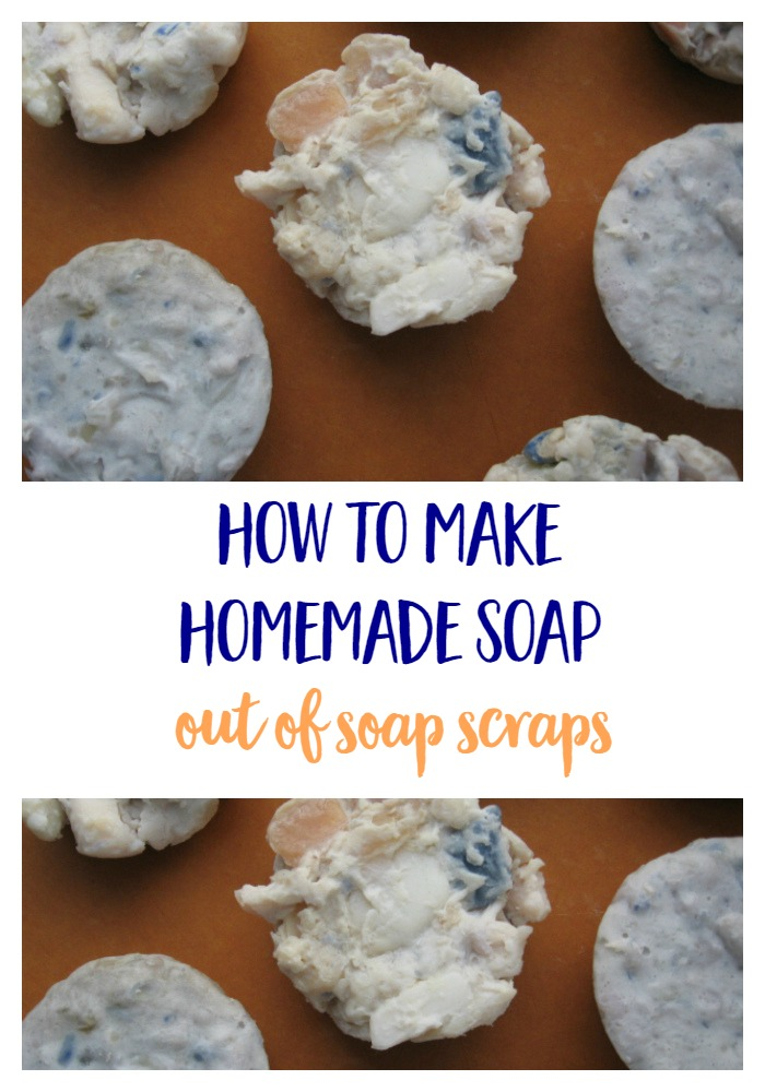 How to Make Homemade Soap Out of Soap Scraps - Reuse old soap scraps and create brand new soap. | frugal | DIY | Mindful Momma via @MindfulMomma