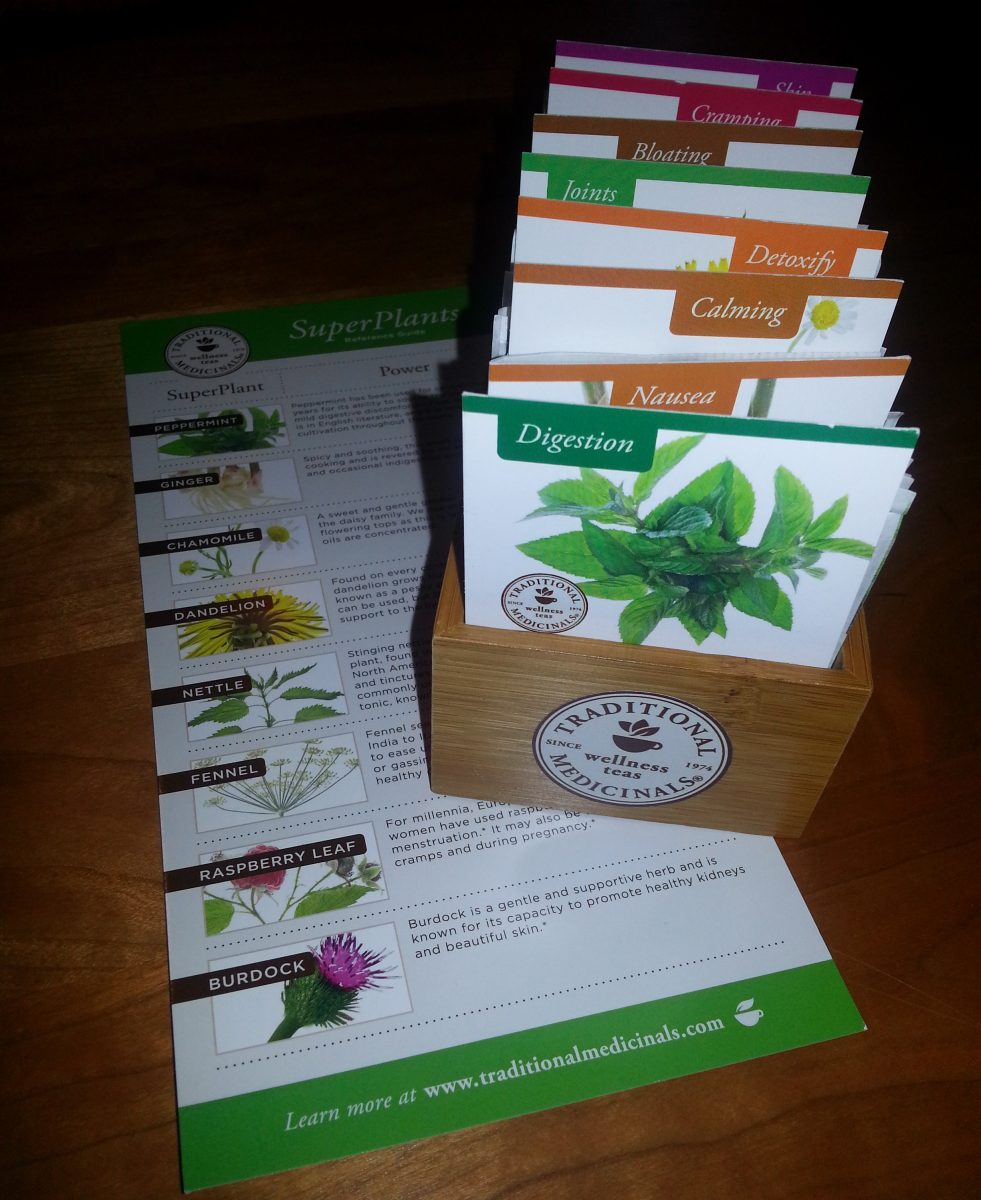 Traditional Medicinals tea www.mindfulmomma.com