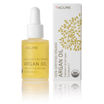 True Goods Acure argan oil via mindfulmomma.com