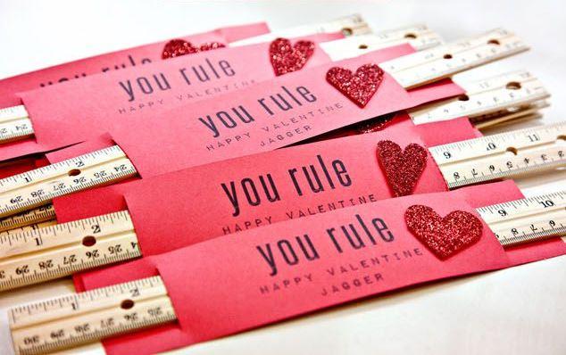 You Rule Valentine via thompsonandspring.com