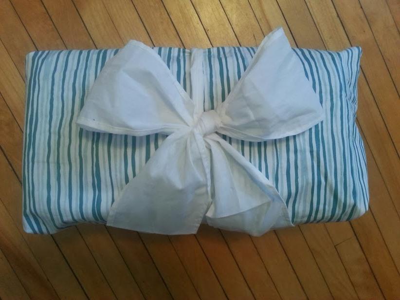 enfold reusable gift wrap via mindfulmomma.com