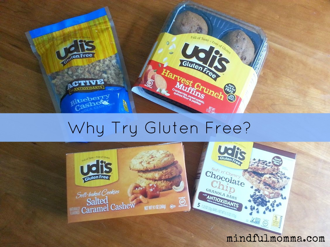 Udi's Why Try Gluten Free via mindfulmomma.com