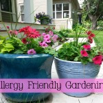 Allergy Friendly Gardening via mindfulmomma.com