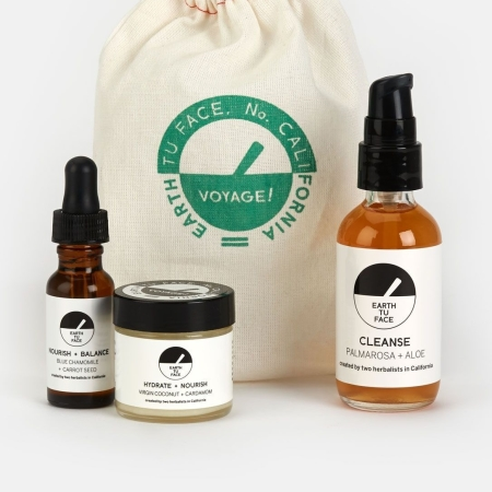 Earth tu Face Travel Skincare Kit