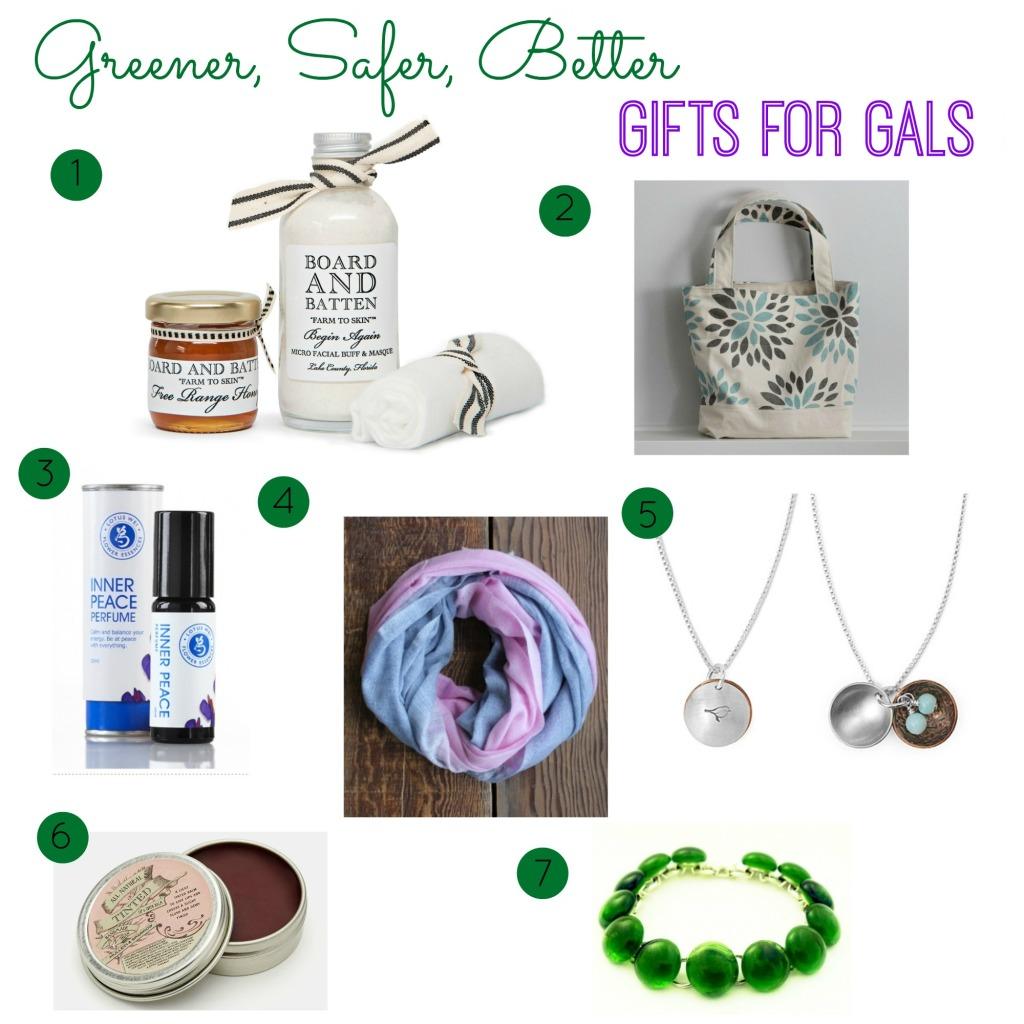 Greener, Safer, Better Gifts for Gals