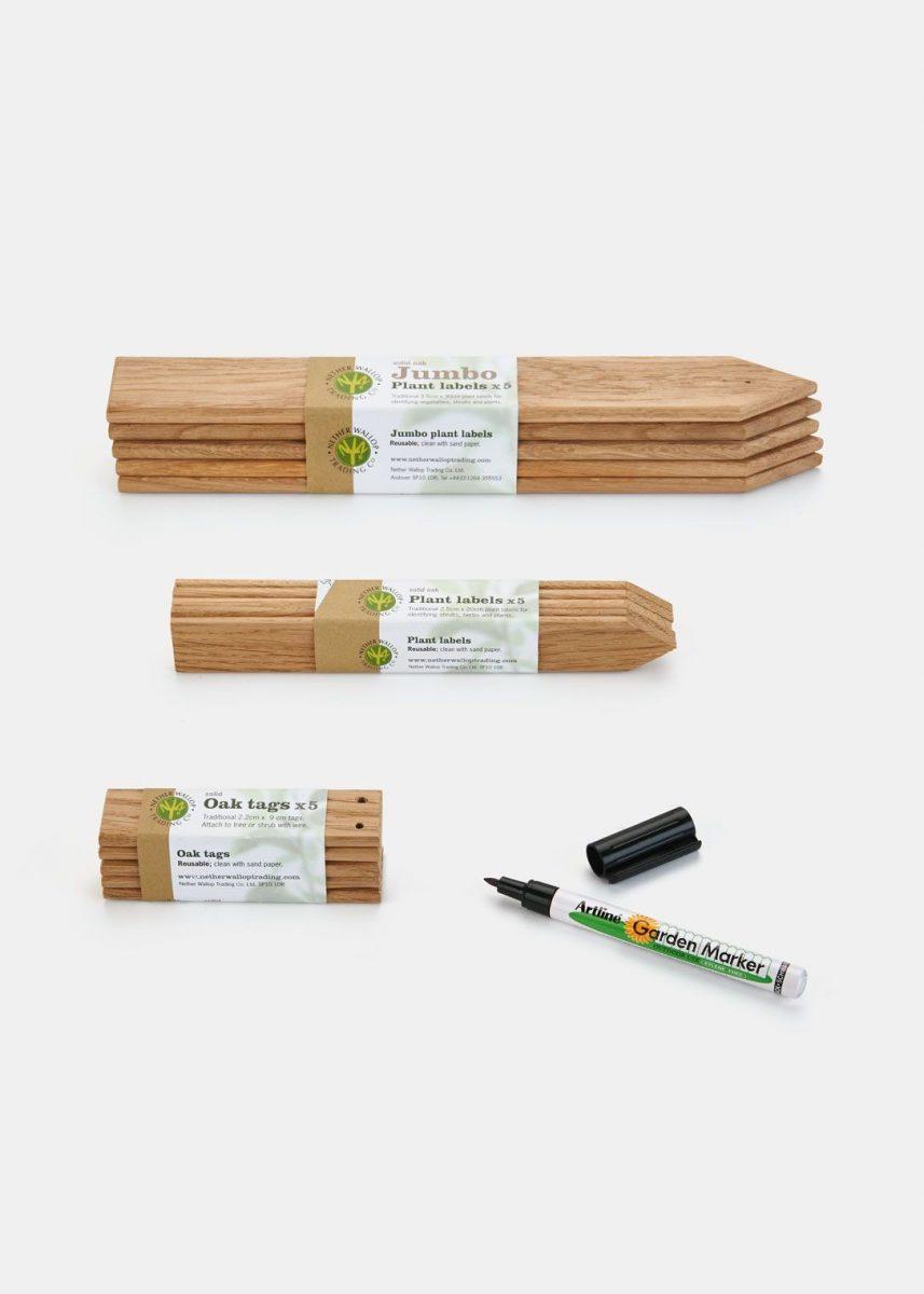 Reusable Plant Labeling Set