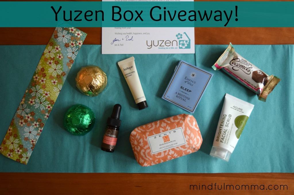 Yuzen Box Giveaway Winter 2014