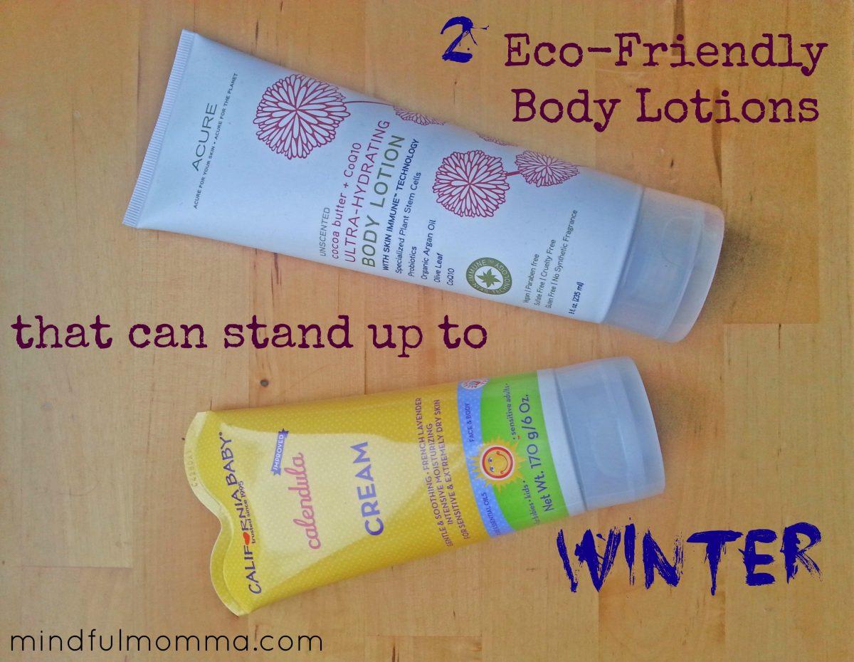 2 Eco Body Lotions via mindfulmomma.com