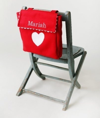 Valentine Mailbox Chair Backer