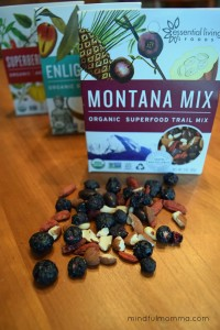 Essential Living Foods Montana Mix via mindfulmomma.com