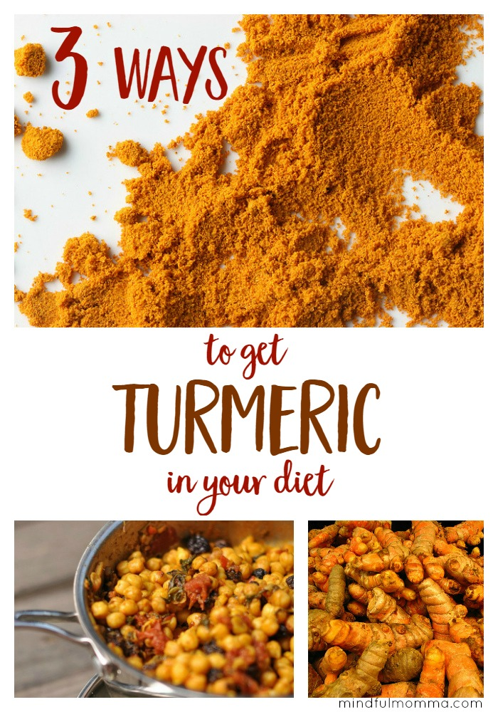 How to Get More Turmeric In Your Diet | Healthy Food | Natural Remedy | Anti Inflammatory | Recipes via @MindfulMomma