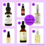 6 Fabulous Facial Oil Serums via mindfulmomma.com