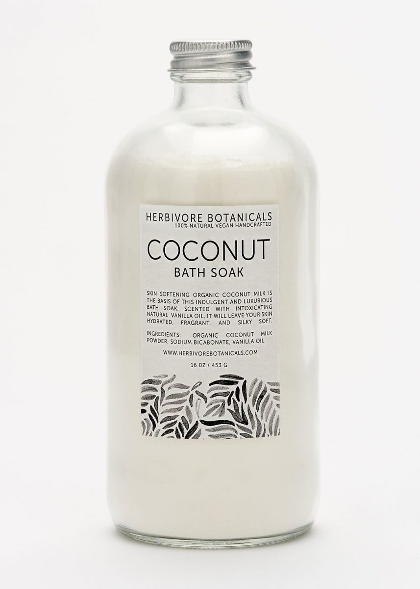 how to make coconut milk bath soak