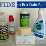 Guide to Eco Stain Removers via mindfulmomma.com