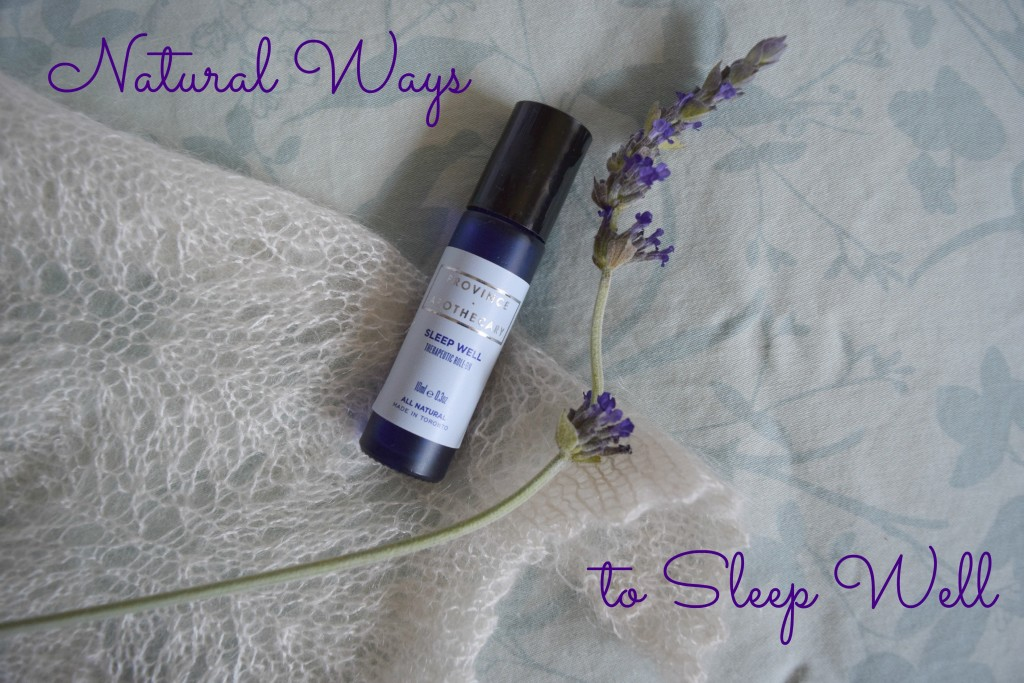 Natural Ways to Sleep Well via mindfulmomma.com