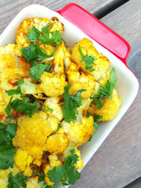 Curried-Roasted-Cauliflower-with-Coconut-Oil-The-Lemon-Bowl