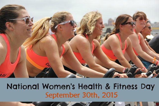 National Women's Health & Fitness Day via mindfulmomma.com