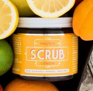 Haven Lemon Scrub