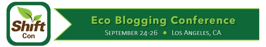 Speaking at ShiftCon Eco Blogging Conference
