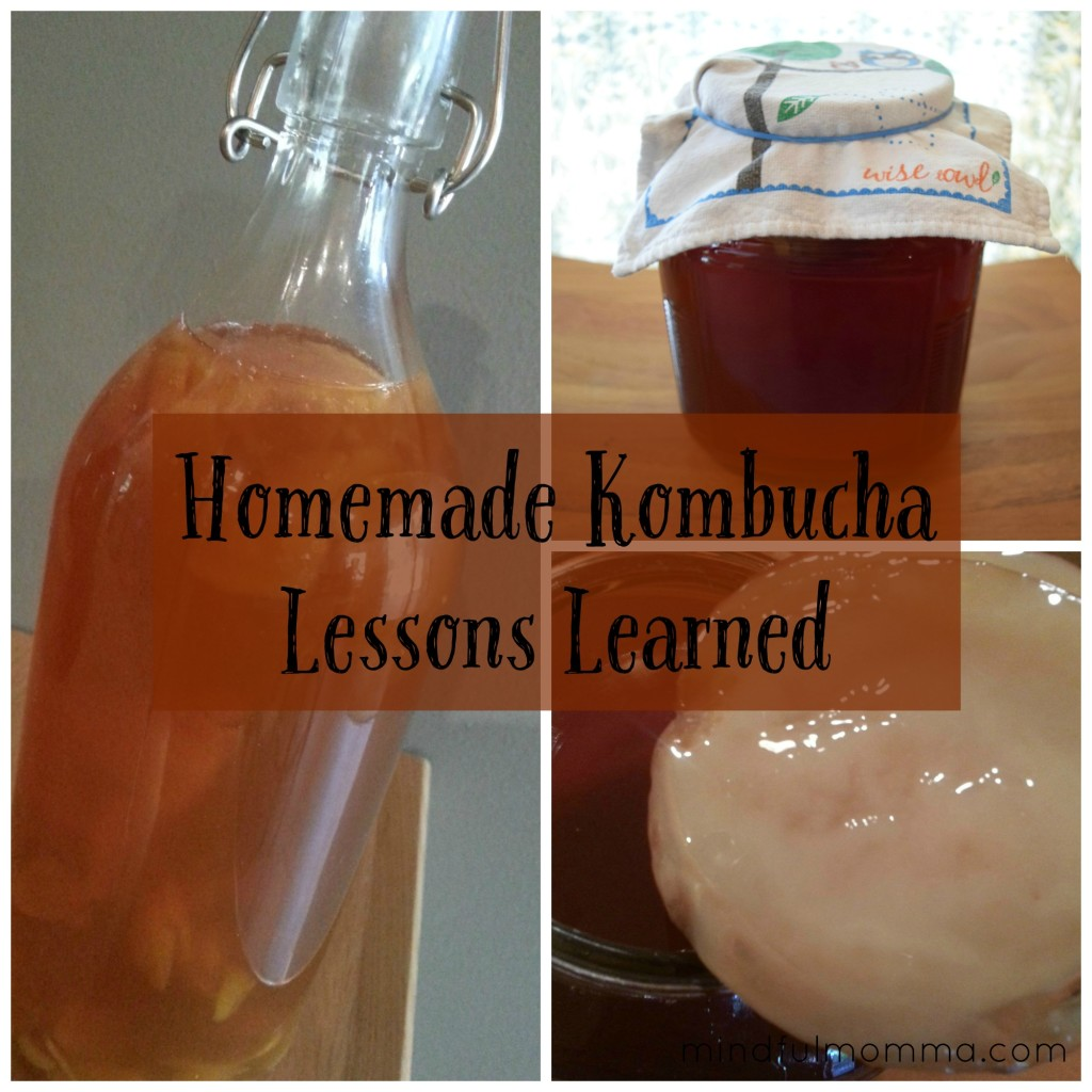 Homemade Kombucha Lessons Learned