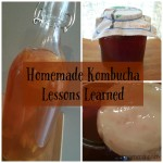 Homemade Kombucha Lessons Learned