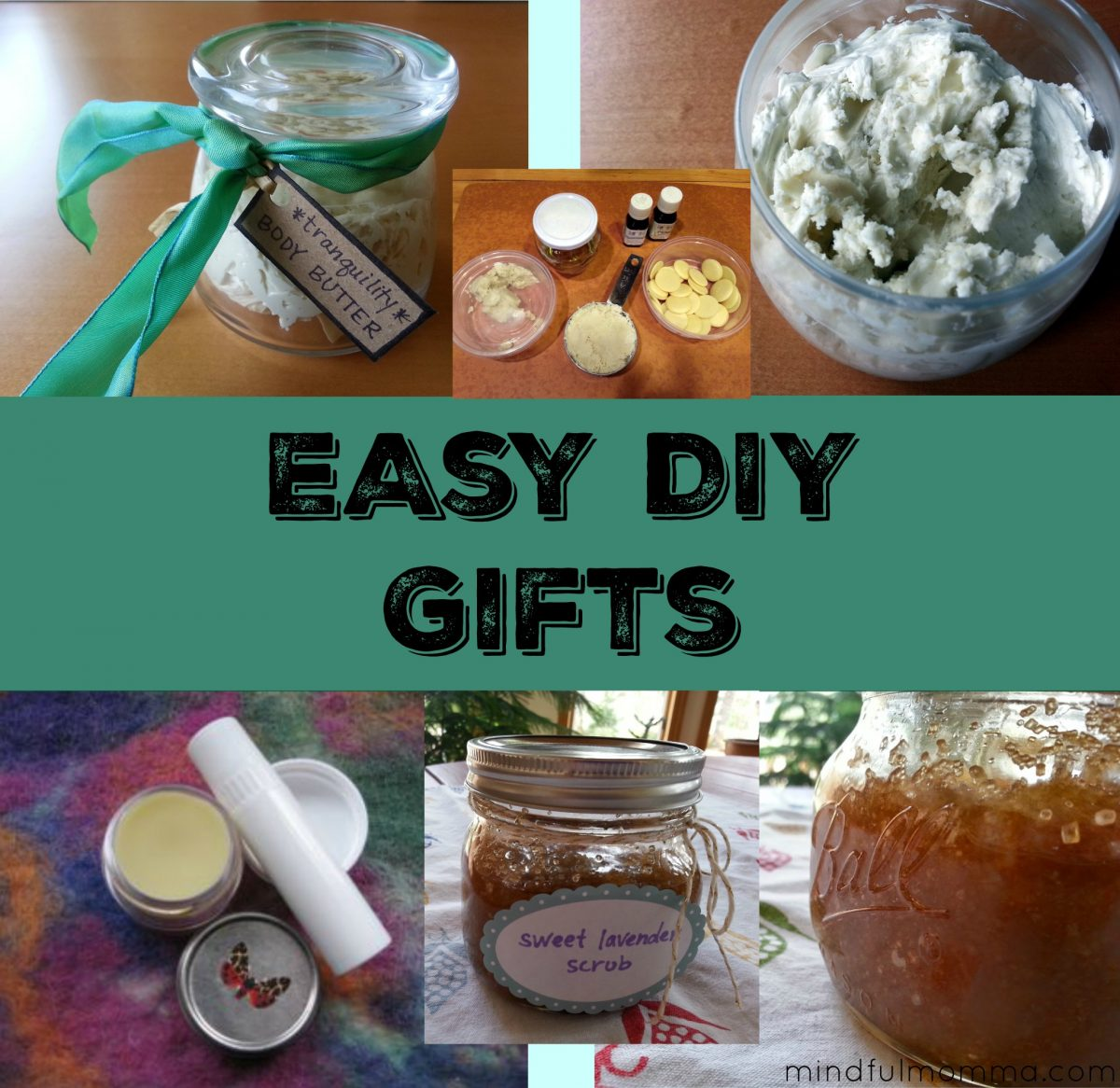 Easy DIY Gifts