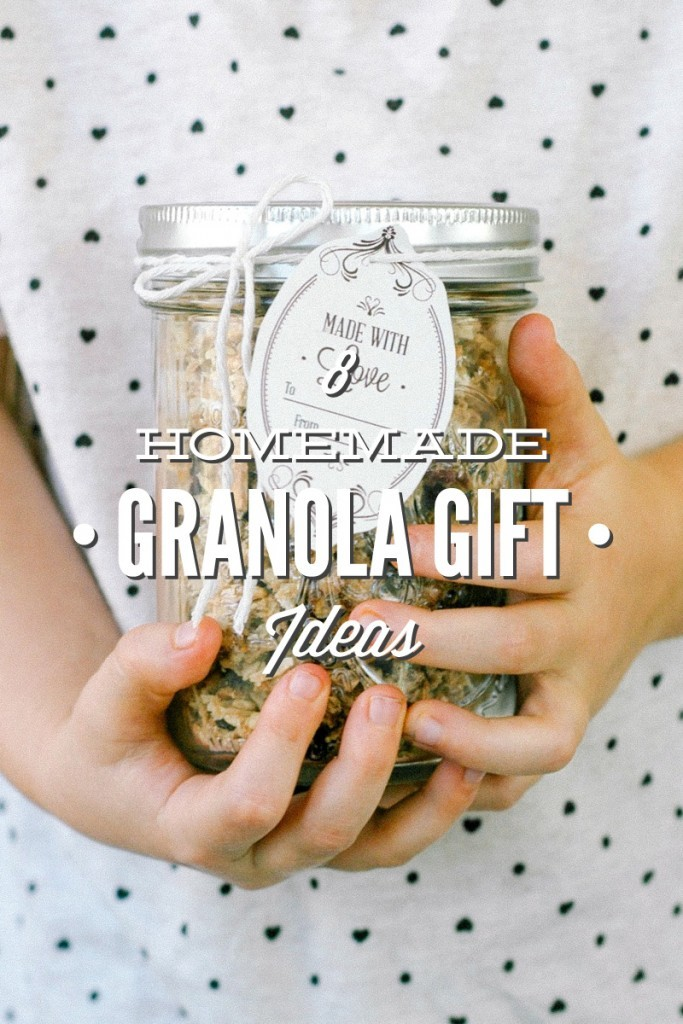 Homemade Granola Gift Ideas from Live Simply Mom