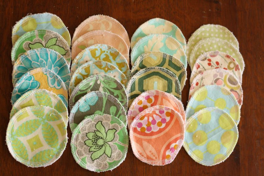 Reusable makeup pads and other practical, reusable gifts