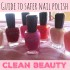 Safer Nail Polish Roundup
