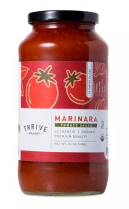 Thrive market tomato sauce // www.mindfulmomma.com