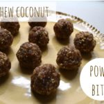 Coconut Cashew Power Bites // www.mindfulmomma.com