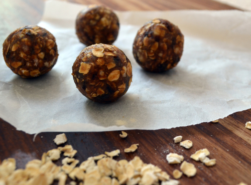Coffee and Cashew Butter Energy Balls by Chop It Like It's Hot
