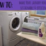 Sustainable Tips for Laundry Room Efficiency