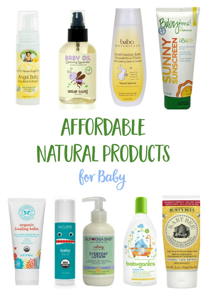 How to find affordable natural baby care products for List of natural items