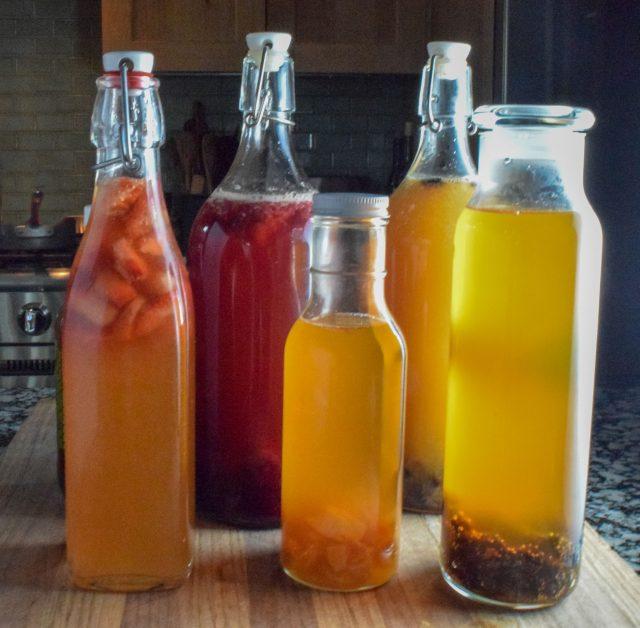 5 Fruit Flavored Kombucha Recipes