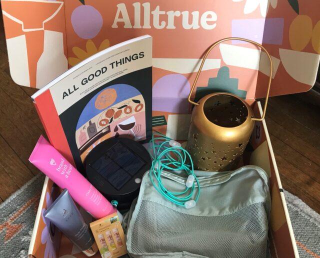 Alltrue Box - eco-friendly subscription box
