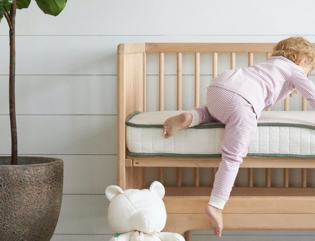 Avocado Green Crib Mattress