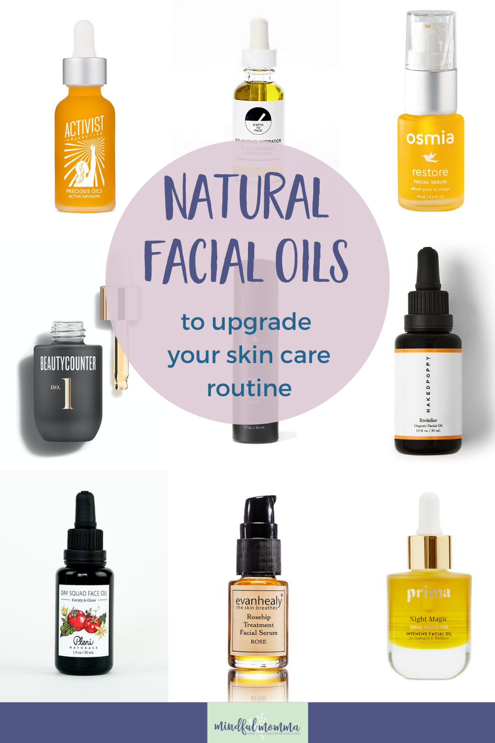 Learn why a facial oil serum could be a great addition to your skin care routine, plus discover the best facial oils for your skin type and personal needs. | beauty and skin care products via @MindfulMomma