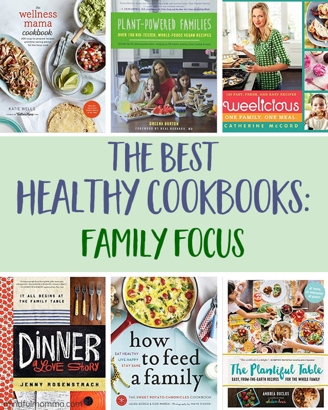 Best Healthy Cookbooks - Family Focus