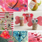 Candy-Free Valentine's Day Cards & Crafts to Make with the Kids