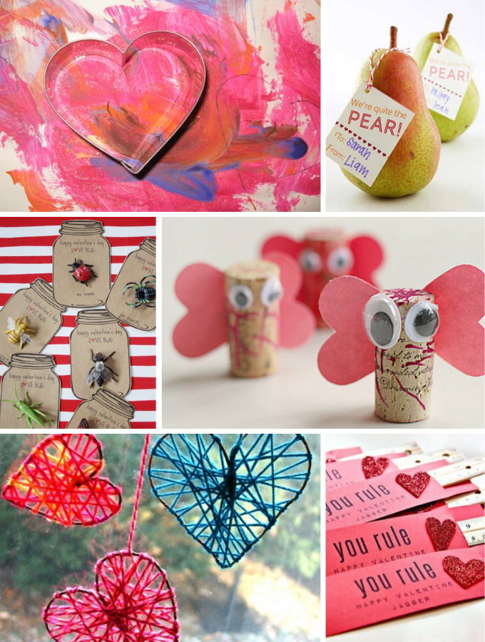 Candy Free Homemade Valentine's Day Gifts