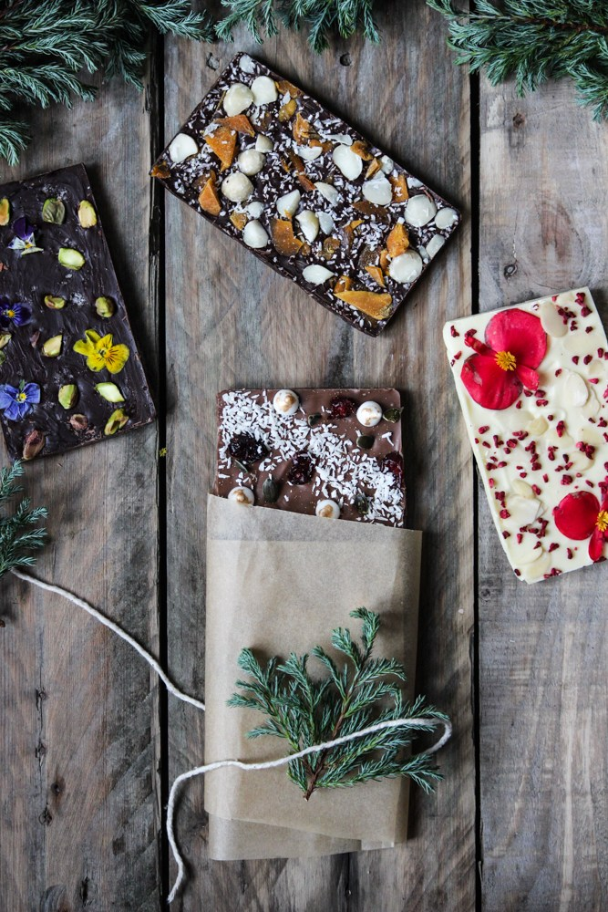 Chocolate Bark from The Life Harvest