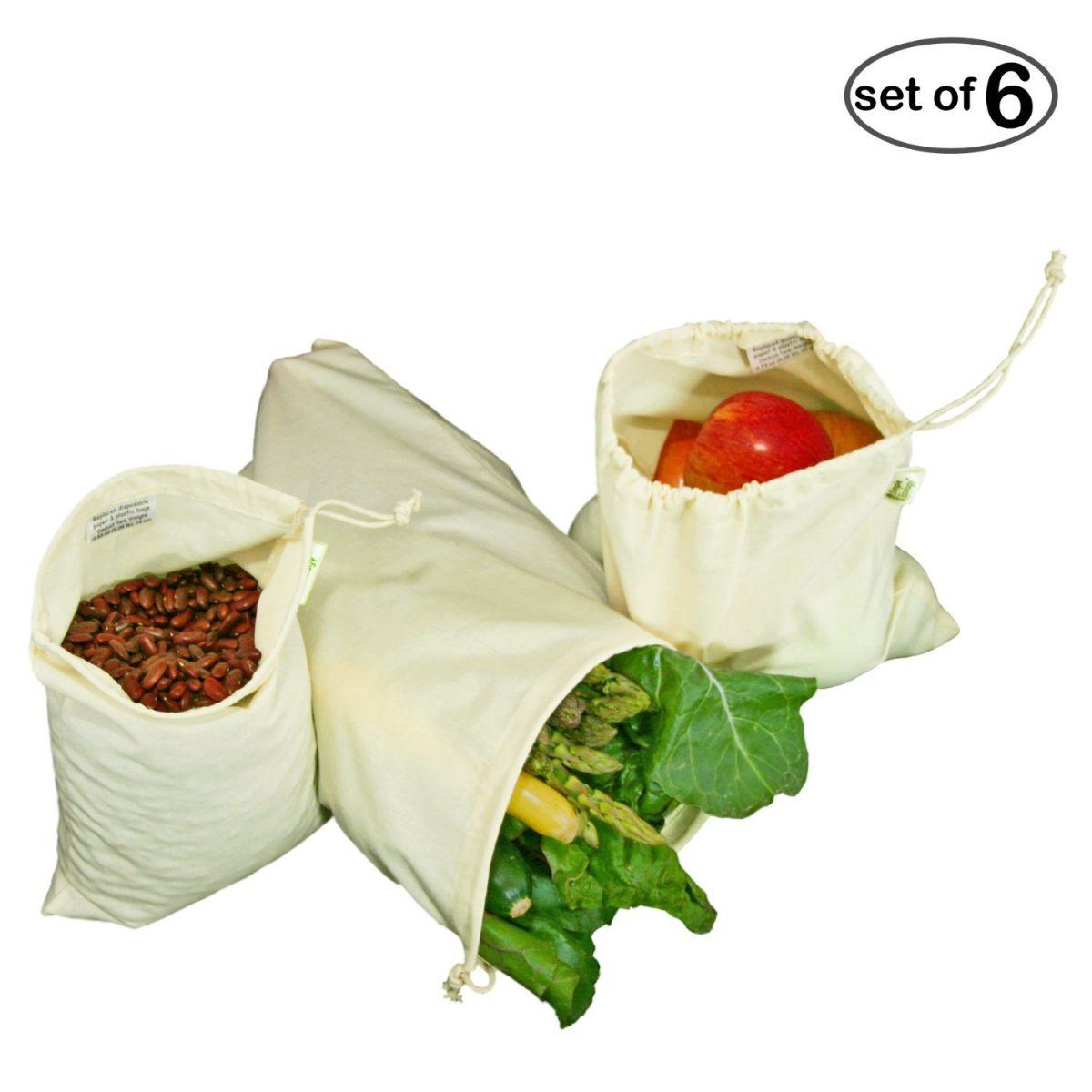 Cotton Produce Bags