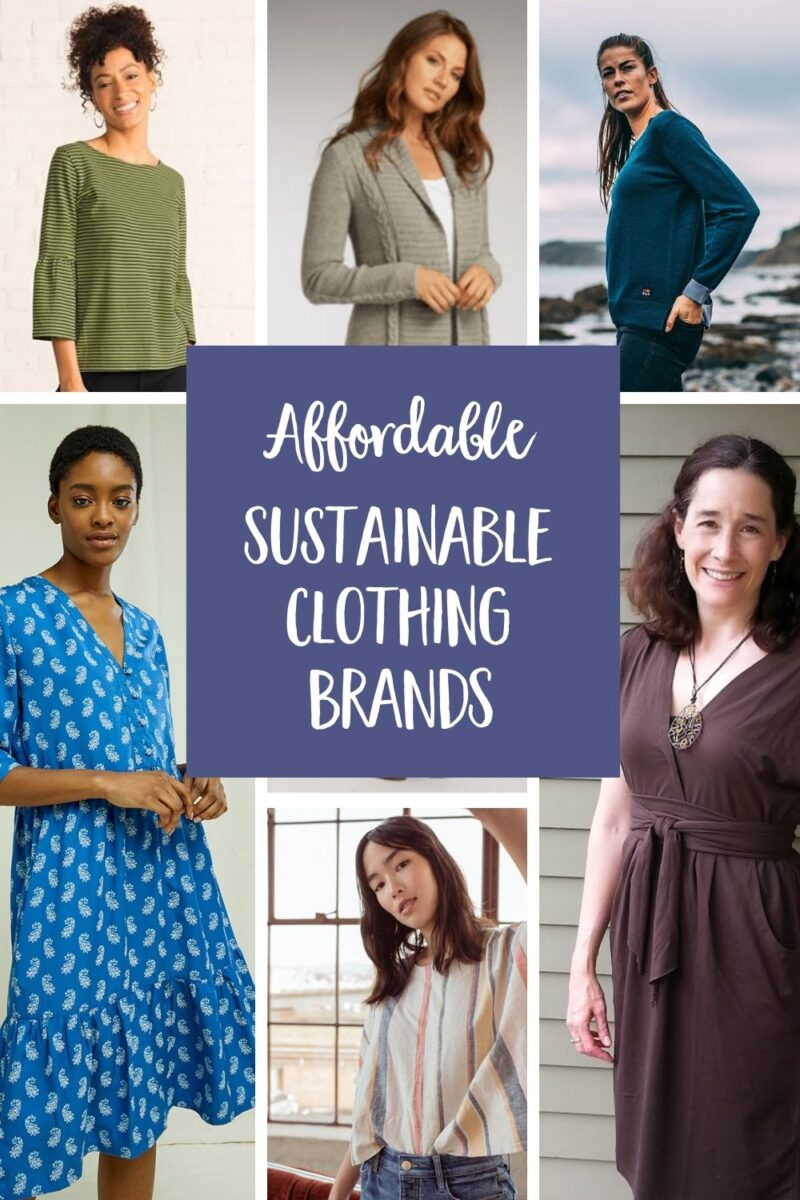 Discover the best affordable sustainable clothing brands, made from organic cotton and other eco-friendly fabrics, and produced using ethical, Fair Trade manufacturing practices. via @MindfulMomma