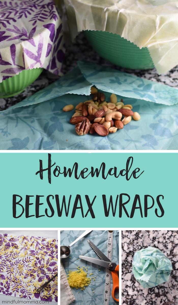 DIY Beeswax Wraps PIN via @MindfulMomma