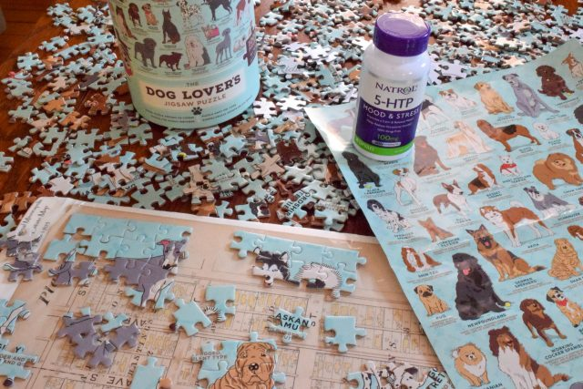 Puzzle and Natrol 5-HTP