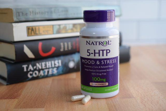 Natrol 5-HTP and books