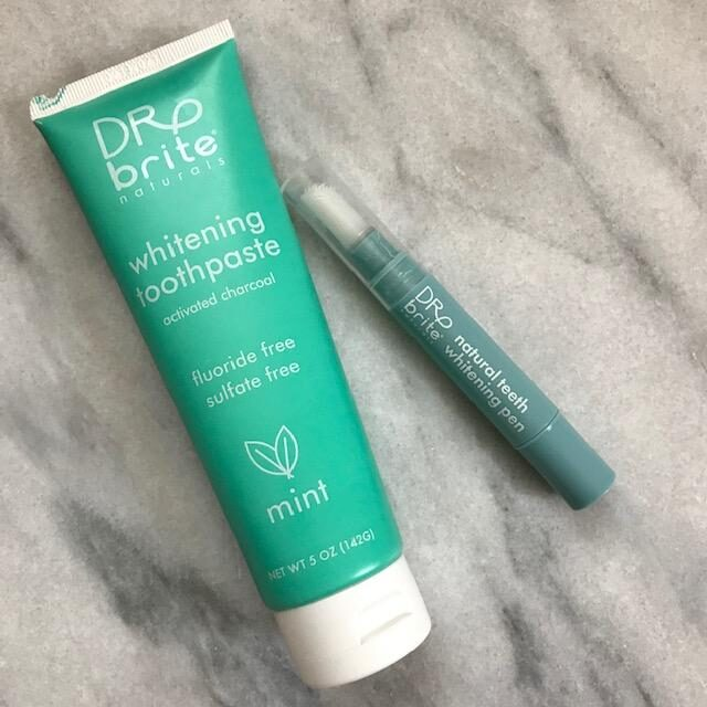 Dr. Brite whitening toothpaste and tooth whitening pen