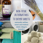 Non-Toxic Dryer Sheet Alternatives For Naturally Soft & Fresh Laundry
